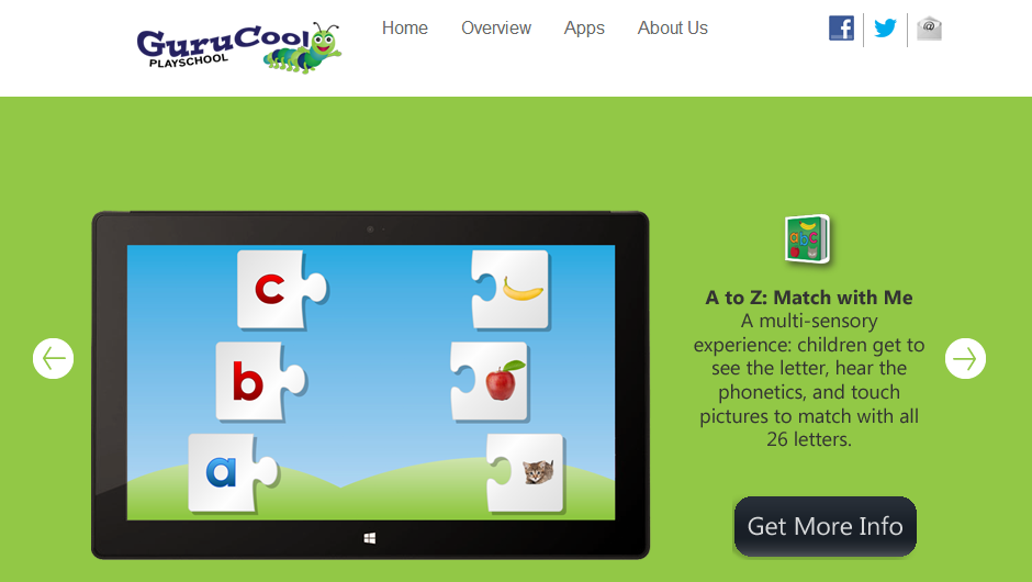 GuruCool PlaySchool Website