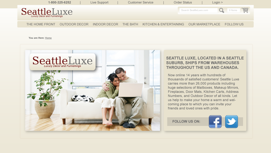 Seattle Luxe Web site rebuild